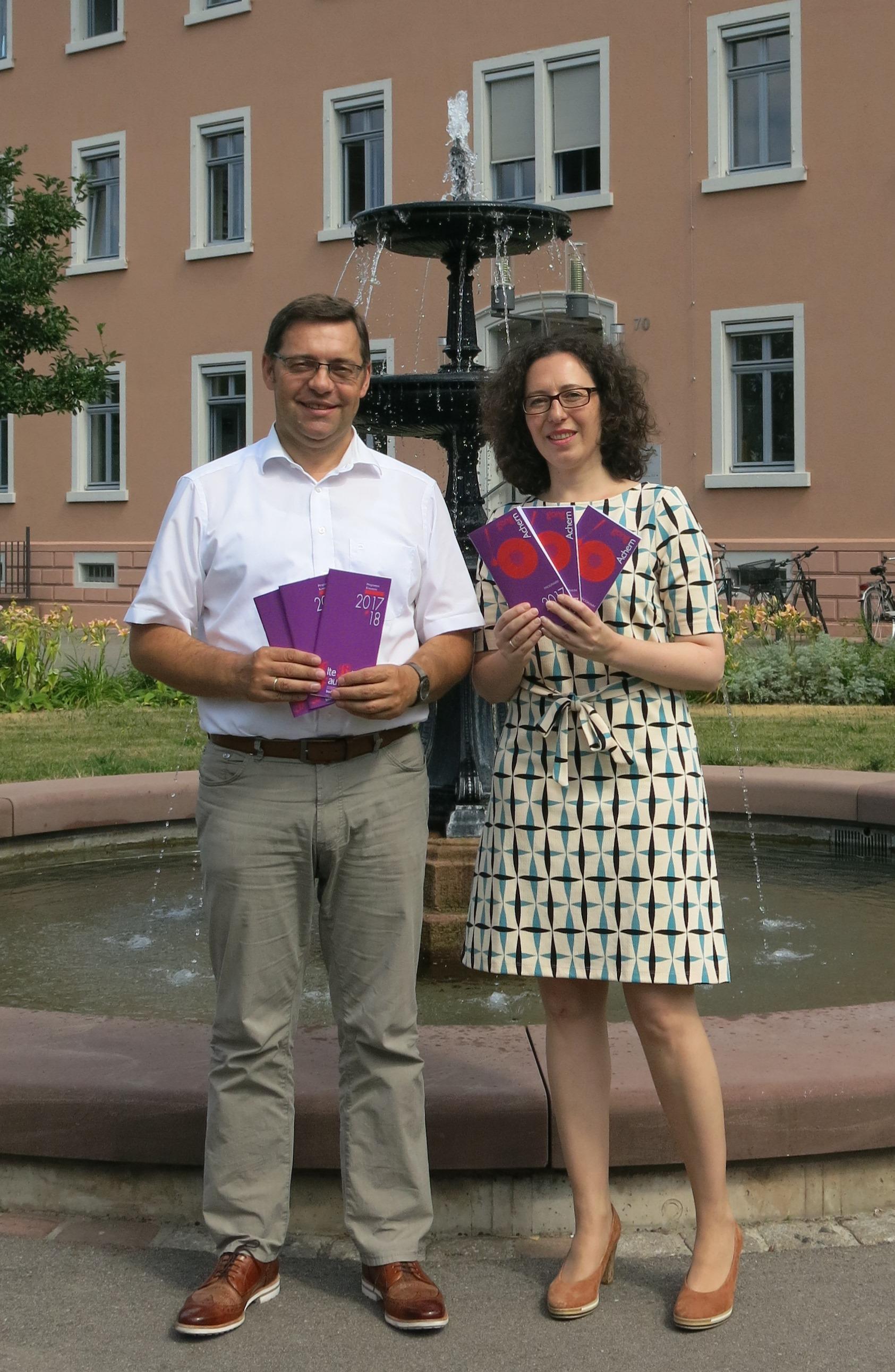 170707 Oberbürgermeister Klaus Muttach und Nicole Reuther