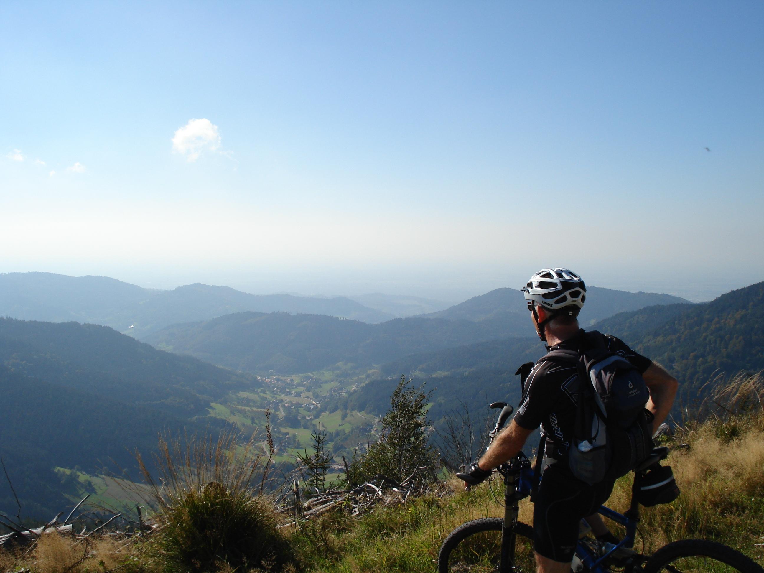 Mountainbiker - Tourist Info Achern