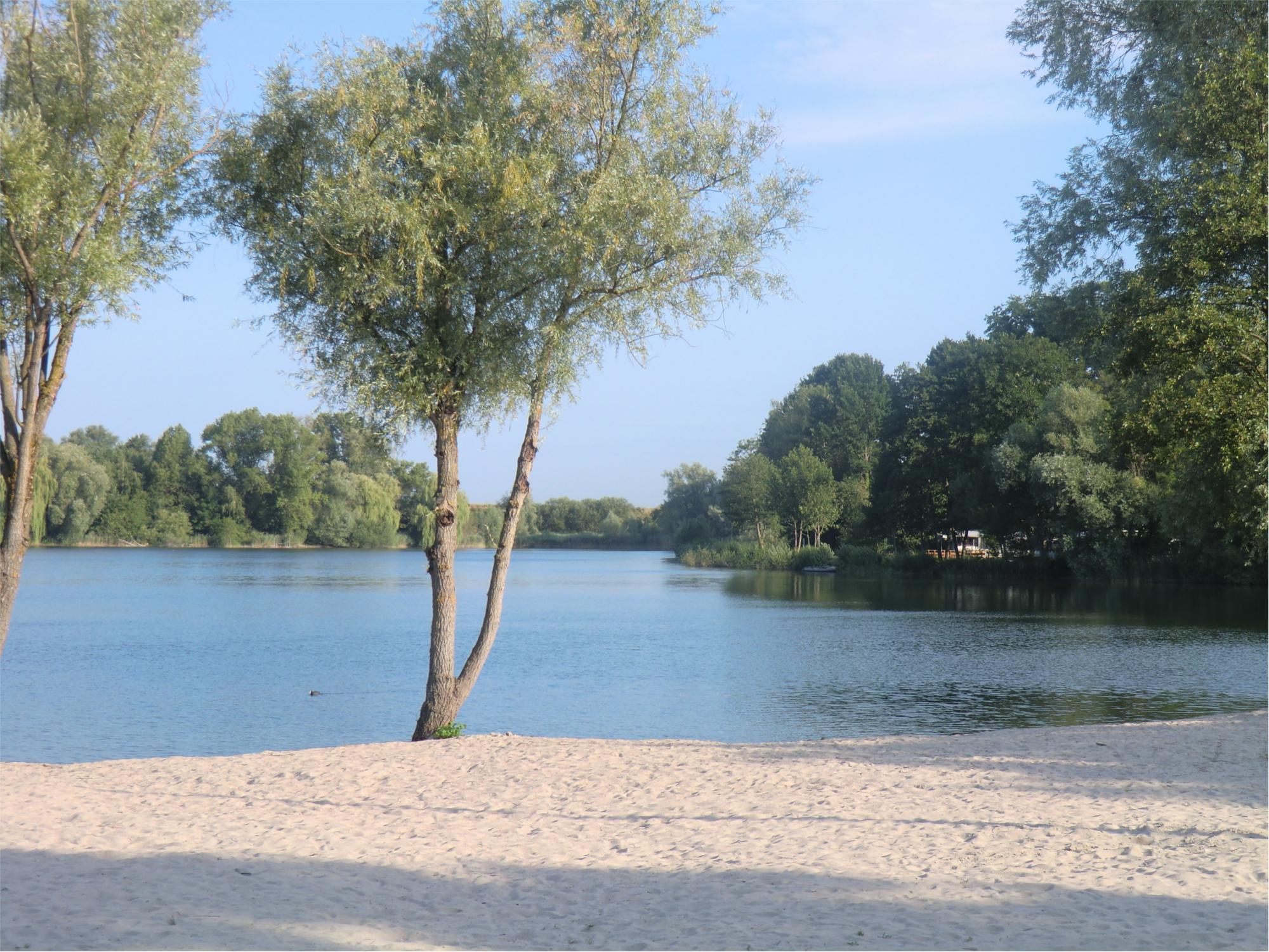 Badestelle am Achernsee
