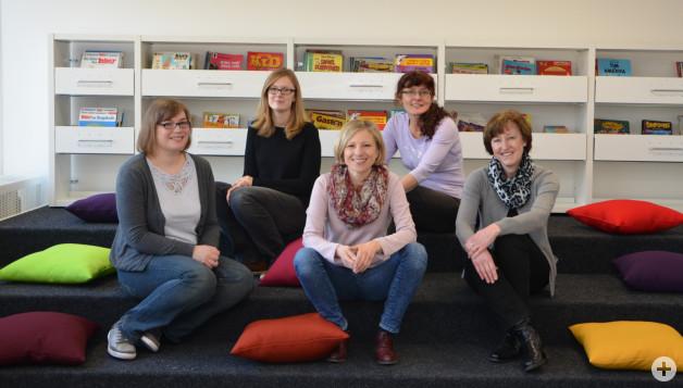 Team der Stadtbibliothek