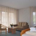 Hotel Pension Breig Wohnzimmer