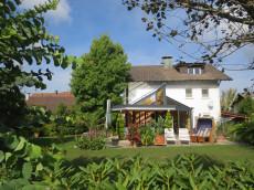 Ferienwohnung Schlossblick mit Garten
