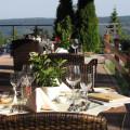 Restaurant-Sommerterrasse