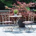 Ferienwohnungen Haus Bachmatt Sitzecke auf der Terrasse