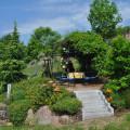 Ferienwohnungen Haus Bachmatt Grillplatz im Garten