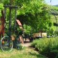 Ferienwohnungen Haus Bachmatt Garten mit Pavillon