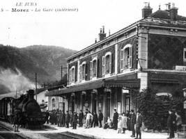 Bahnhof von Morez