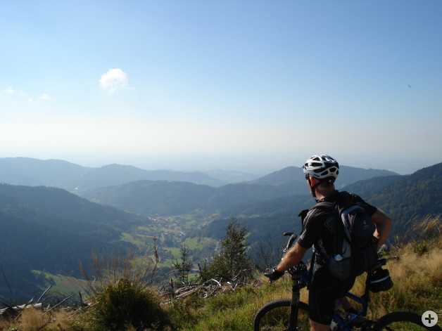 Mountainbiker - Tourist Info Achern
