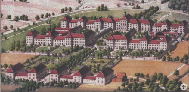 Illenau im Jahre 1842